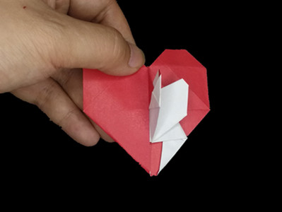 origami-heart-in-heart-Step 32-4