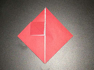 origami-heart-with-flower-Step 8