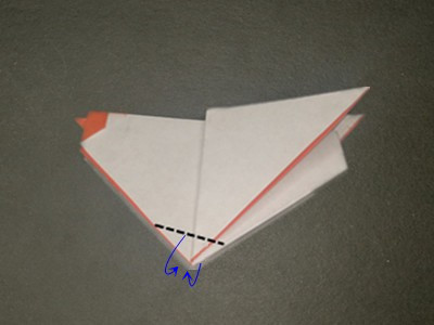 origami-hen-Step 18