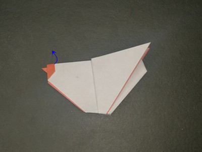 origami-hen-Step 19