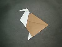 Origami ostrich