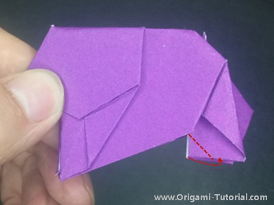 origami-paper-elephant-Step 24