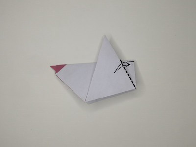 origami-rooster-Step 10