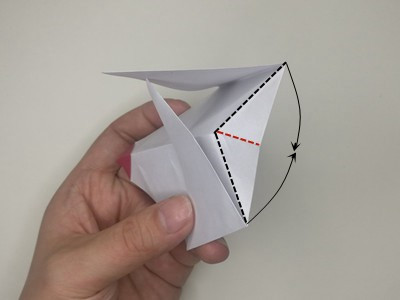 origami-rooster-Step 11-2