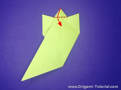 origami-sitting-cat-Step 12