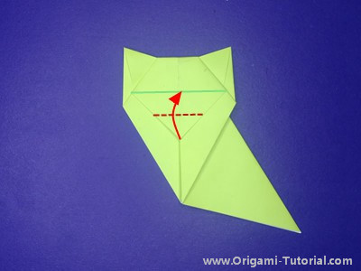 origami-sitting-cat-Step 13
