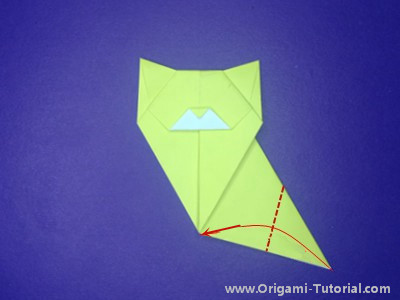 origami-sitting-cat-Step 14