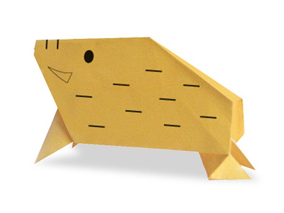 origami-small-pig