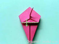Origami-Tropical-Fish-Step 12-1