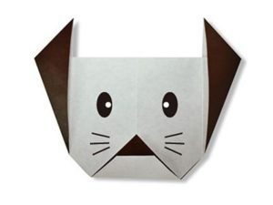 easy-origami-dog-face