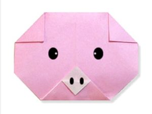 easy-origami-pig-face