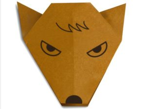 easy-origami-wolf-face