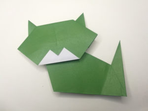 an easy paper cat