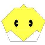 origami-chick-face