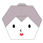 origami-woman-face