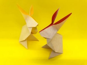 traditional-origami-rabbit